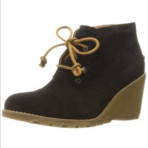 Sperry's Stella Prow Suede Bootie
